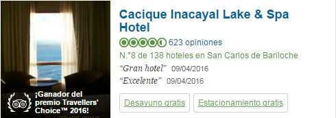 Cacique Inacayal Lake and Spa Hotel