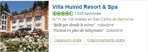Villa Huinid Resort and Spa